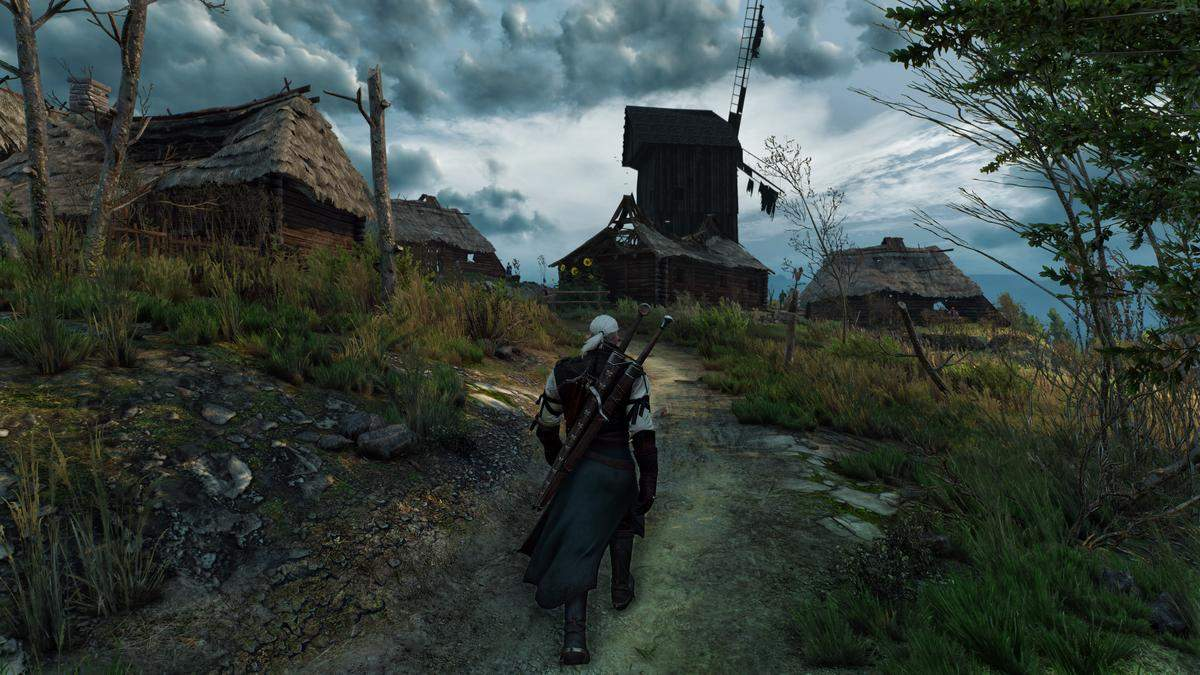 The Witcher 3 Wild Hunt War ravaged thes