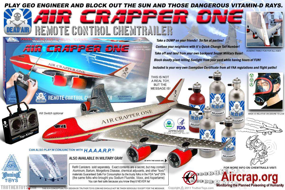 AirCrapperOne Chemtrailer