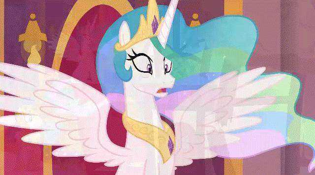 416741 safe solo princess celestia anima