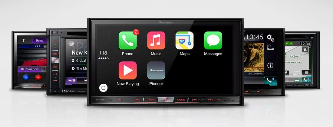 carplay pioneer screens