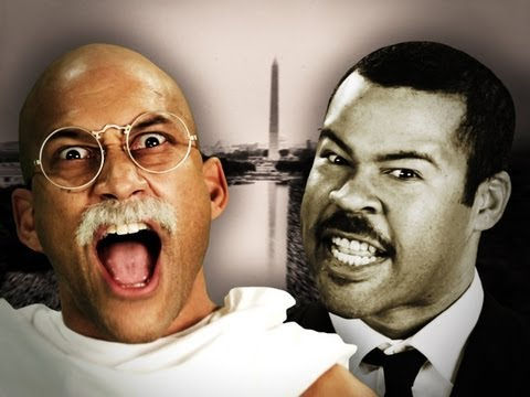 Youtube: Gandhi vs Martin Luther King Jr. Epic Rap Battles of History