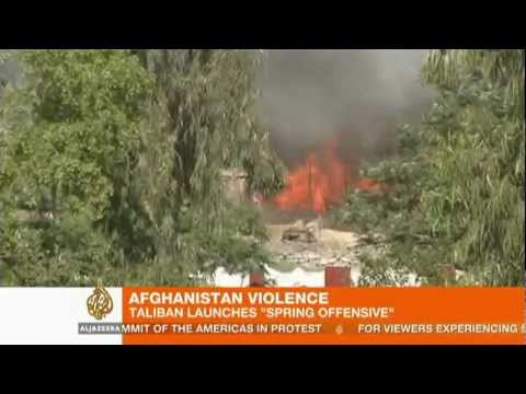 Youtube: Afghan Taliban launch 'spring offensive'