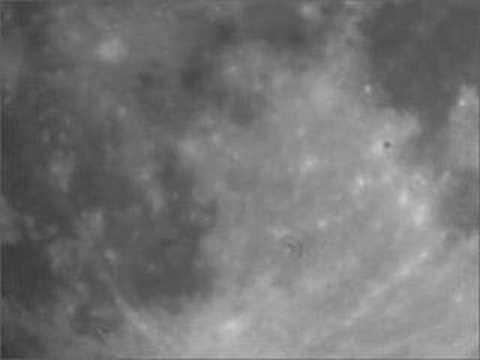 Youtube: Moon video: plane crossing in field of view