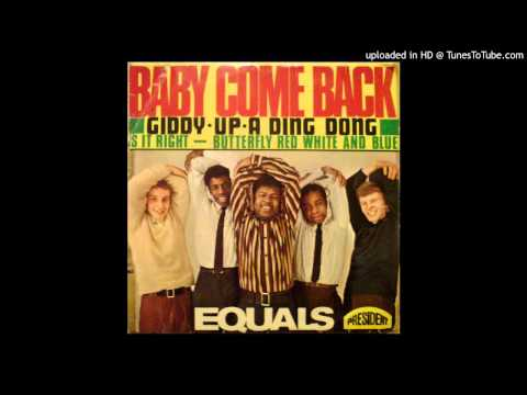 Youtube: The Equals - Baby Come Back - 1968