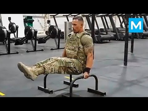 Youtube: STRONGEST Soldier in Army Gym - Diamond Ott | Muscle Madness