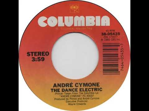 Youtube: ANDRE CYMONE- the dance electric (7 version)