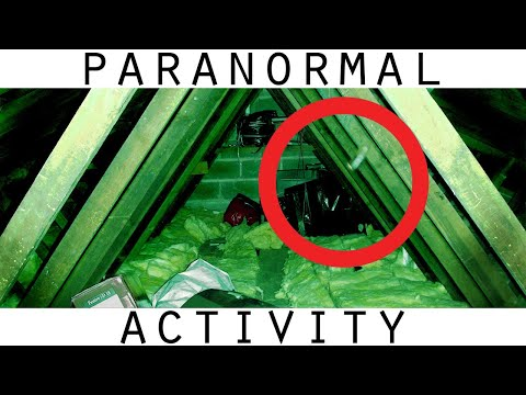 Youtube: Real Poltergeist Caught On Tape In Attic. More Poltergeist Footage
