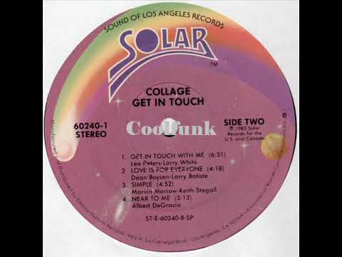 Youtube: Collage - Get In Touch With Me (1983)