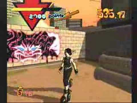 Youtube: Jet Grind Radio - Gameplay (Dreamcast)