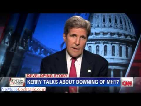 Youtube: John Kerry: US detected the missile launch from Ukraine and observed it hitting Flight MH17