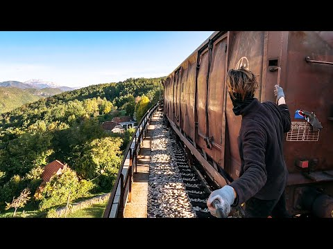 Youtube: Train Surfing Journey Across Croatia | Part 1