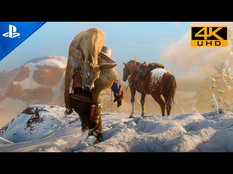 Youtube: Red Dead Redemption 2 [PS HDR 4K] Next-Gen Ultra Realistic Graphics PlayStation 5 Gameplay