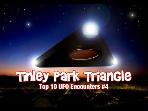 Youtube: Tinley Park Triangle - Top 10 UFO Encounters #4
