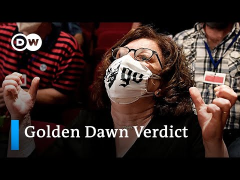 Youtube: Golden Dawn: Neo-Nazi party leaders convicted of running a criminal organization | DW News