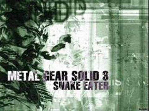 Youtube: Metal Gear Solid 3 Snake Eater Soundtrack: Snake Eater