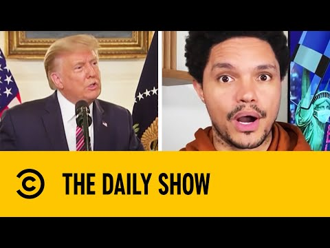 Youtube: Trump Defends Downplaying Coronavirus Threat In Leaked Interview | The Daily Show With Trevor Noah