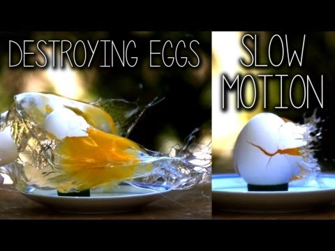 Youtube: Destroying Eggs in Slow Motion (39,024FPS)