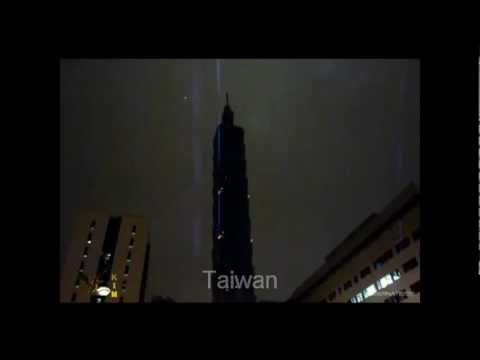 Youtube: Ufo Silvester 2012 weltweit