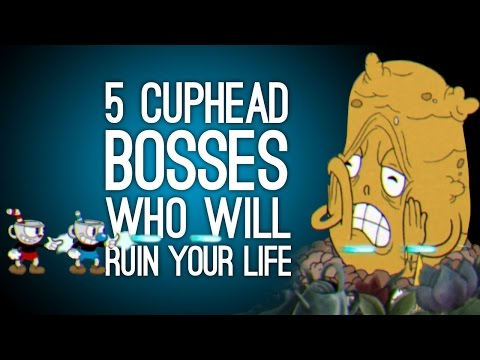 Youtube: 5 Cuphead Bosses Who Will Ruin Your Life - Cuphead Xbox One Gameplay