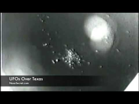Youtube: UFO spotted by Nasa Over Texas