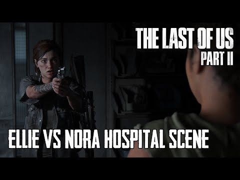 Youtube: Ellie Chases Nora. Amazing Action Scene - The Last of Us Part II in 4K | SPOILER WARNING!!!