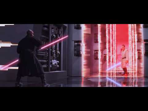 Youtube: DARTH MAUL - FULL LIGHT-SABER FIGHT in HD - Star Wars : The Phantom Menace