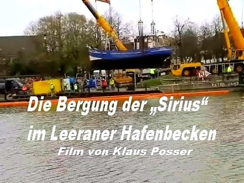 Youtube: Bergung Sirius in Leer Film von Dr.Klaus Posser