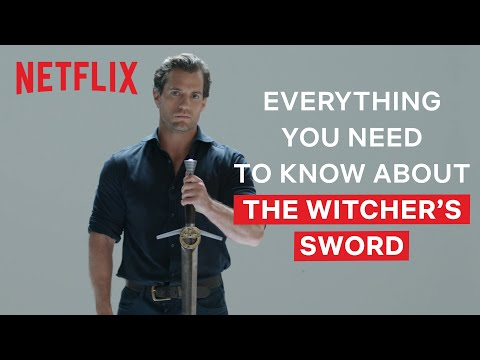 Youtube: Henry Cavill Explains Everything You Need To Know About The Witcher's Swords | The Witcher | Netflix