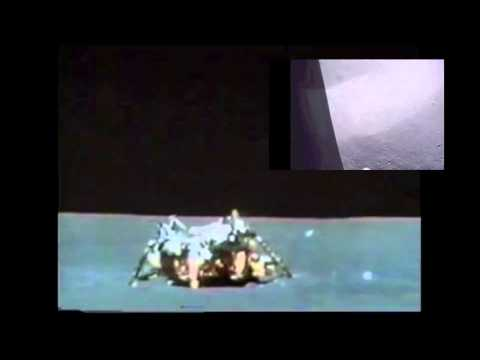 Youtube: Apollo 15 Lunar Liftoff (inside and outside view)