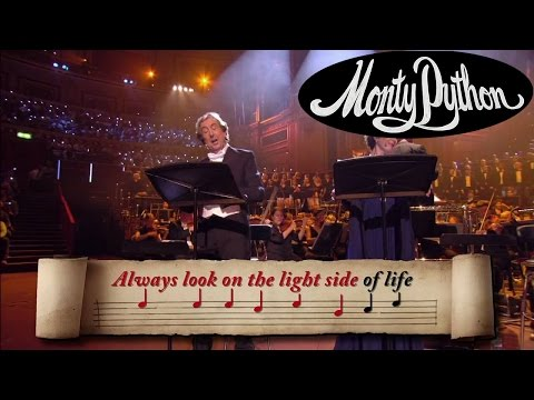 Youtube: Always Look on the Bright Side of Life Sing-Along - Monty Python