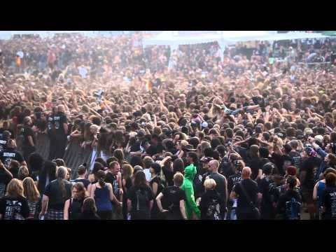Youtube: Wacken 2010 Circle Pit from above Canon EOS 5D Mark II