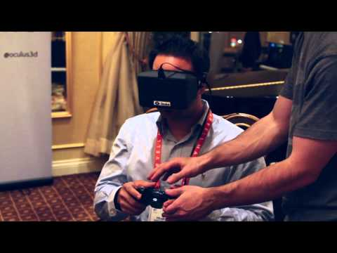 Youtube: Davis Daily: CES Oculus Rift Reactions