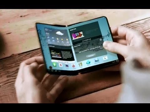 Youtube: 2014 Samsung Flexible OLED Display Phone and Tab Concept