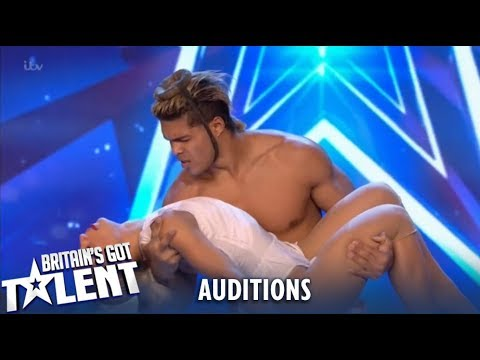 Youtube: Dust in the Wind: Acrobatic Duo from Cuba Leave Judges Speechless!| Britain's Got Talent 2019