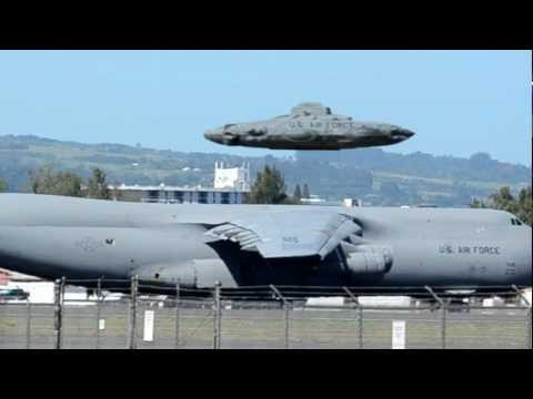 Youtube: UFO Sightings Air force flying Saucer? Enhanced Close Up Video Stills!!!