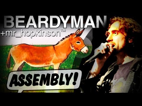 "Youtube: BEARDYMAN with mr_hopkinson ""ASSEMBLY"" at ASSEMBLY ROOMS, Edinburgh (August 2011)"