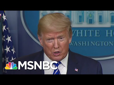 Youtube: Trump Suggests Injecting Disinfectant Into The Body To Treat Coronavirus | MSNBC