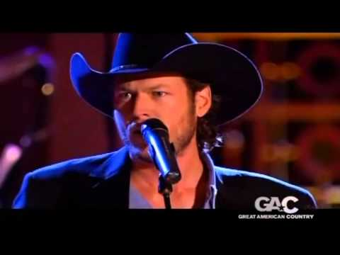 "Youtube: Blake Shelton ~  ""The Gambler"""