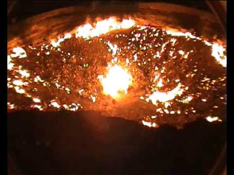 Youtube: DARVAZA GAS CRATER IN TURKMENISTAN - DOOR TO HELL