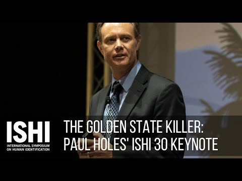 Youtube: The Golden State Killer - ISHI 2019 Keynote