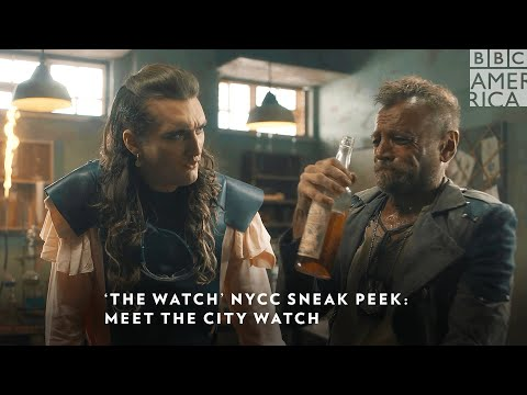 Youtube: #TheWatch NYCC Exclusive Sneak Peek: The Ankh-Morpork City Watch 🔍 Premieres Jan 2021 | BBC America