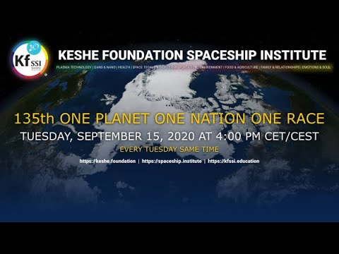 Youtube: 135th One Nation One Planet One Race for World Peace September 15th, 2020