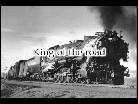 Youtube: Roger Miller - King of the Road - With Lyrics!
