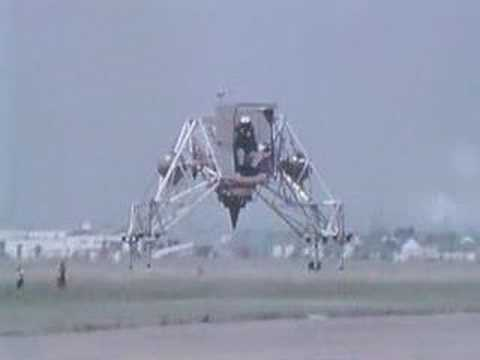 Youtube: Lunar Landing Research Vehicle with Neil Armstrong