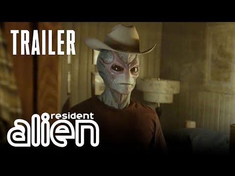 "Youtube: SYFY's ""Resident Alien"" Trailer 