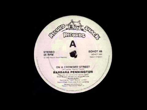 Youtube: BARBARA PENNINGTON - On A Crowded Street ('M & M' Mix) [HQ]