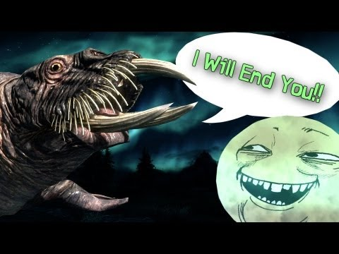 Youtube: Moddin' Skyrim: Hilarious Horker Mod! YOBA Meme Moon, and VictoriaG Menu Replacer 5