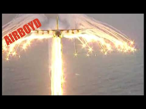 Youtube: C-130 Angel Wing Flare Pattern
