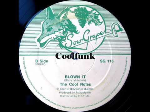 "Youtube: The Cool Notes - Blown It (12"" Brit-Funk 1984)"