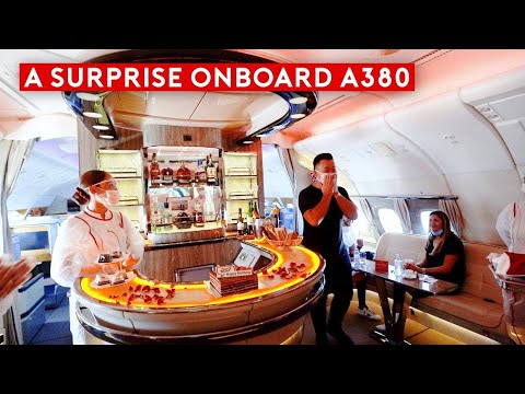 Youtube: The A380 is Back! An Emotional Emirates A380 Flight